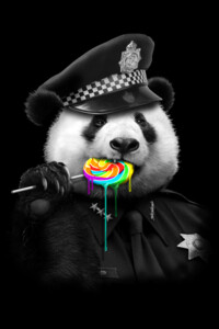 LOLLYPOP COP by ADAMLAWLESS