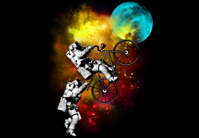 CYCLE TO MOON  Artwork