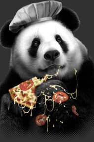 PANDA LOVES PIZZA