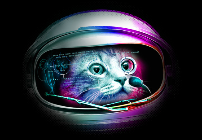 CYBORG CAT  Artwork