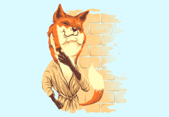 cool fox  Artwork