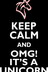 Keep Calm - Unicorn