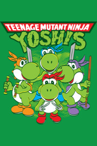 Teenage Mutant Ninja Yoshis
