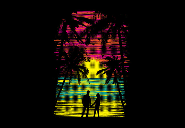 Sunset Paradise  Artwork