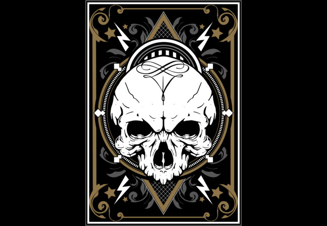 White Skull  Artwork