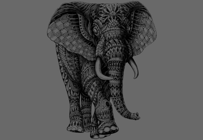 Ornate Elephant 2.0  Artwork
