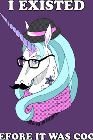Hipster Unicorn Says...