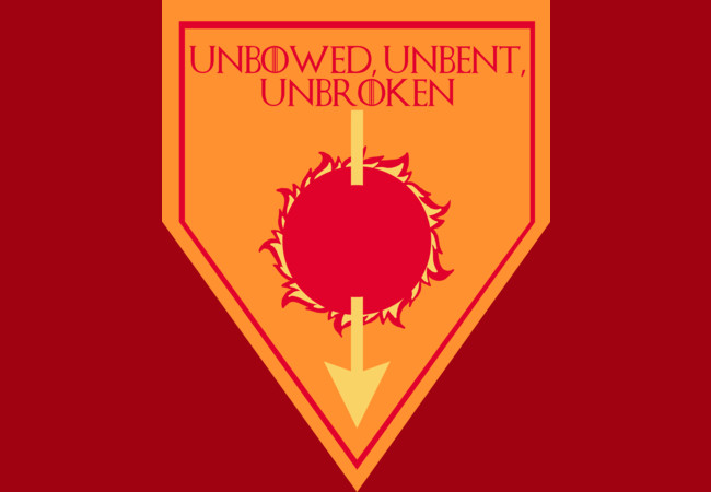 GOT House Martell Sigil  Artwork