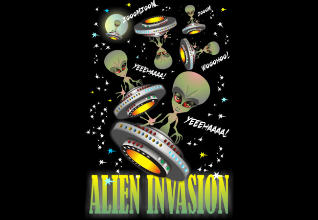 Alien Invasion  Artwork