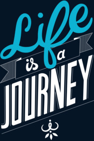 Typography: Life is a Journey