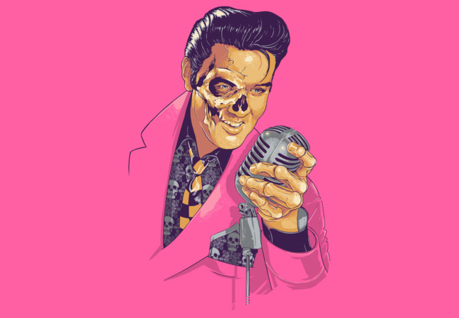 Elvis Skull  Artwork