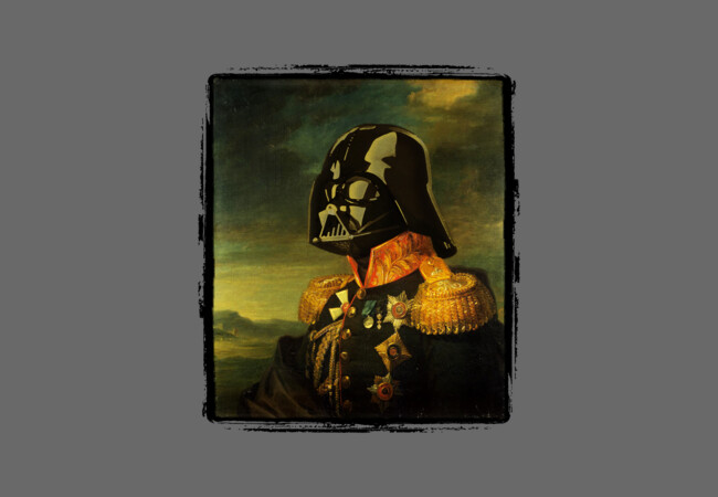 Portrait of Lord Vader  Artwork