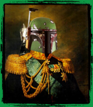 Portrait of Boba Fett