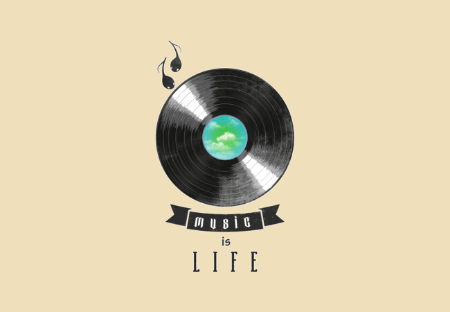 music is life  Artwork