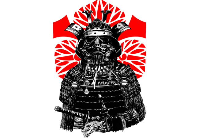 The Bushi Trooper  Artwork