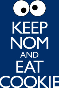 Keep Nom & Eat Cookie