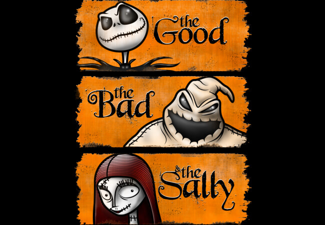 The Good, The Bad, & The Sally  Artwork