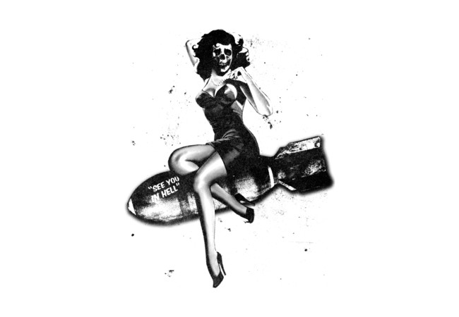Miss Bombshell  Artwork