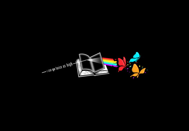 Dark Side of the Reading Rainbow  Artwork