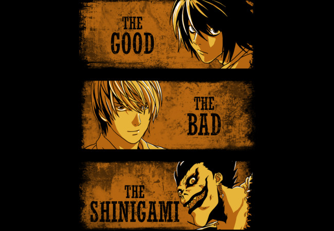 The Good, the Bad and the Shinigami  Artwork