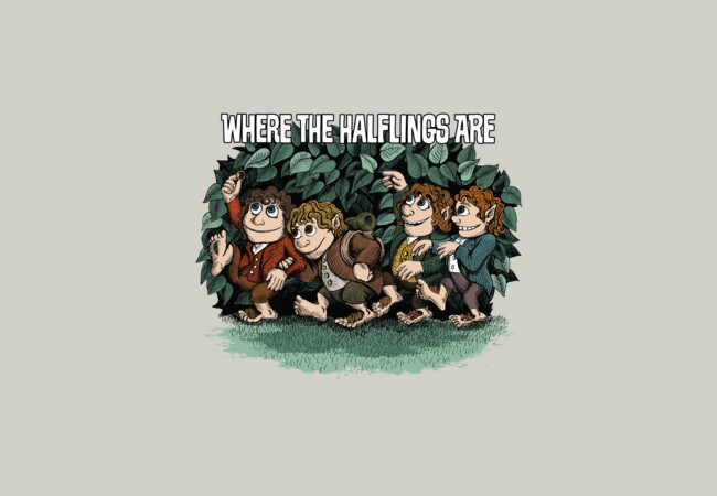 Where the Halflings Are  Artwork