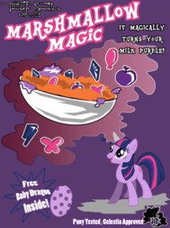 Twilight Sparkles Marshmallow Magic!