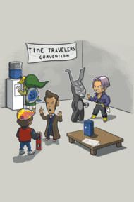 Time travelers convention