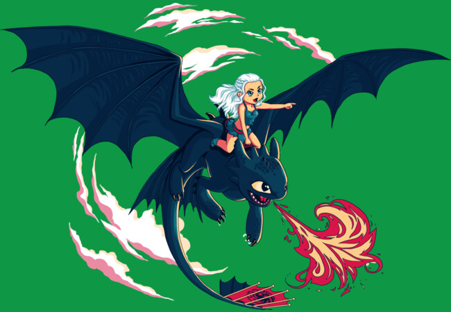 Dracarys!  Artwork