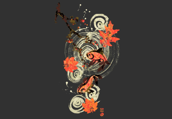 KOI POND  Artwork