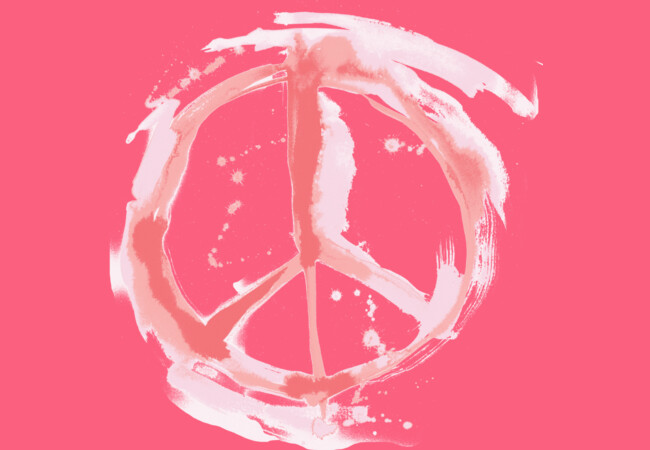 PEACE, U MFers  (pink)  Artwork