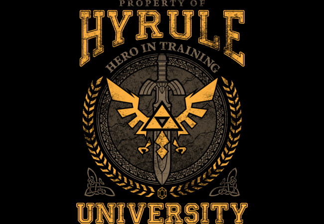 Hyrule University  Artwork
