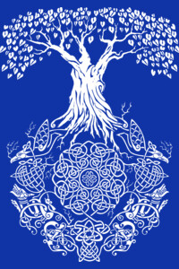 Yggdrasil Tree of Life by TeeNinja