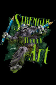 Strength Through Art III - HBeast!