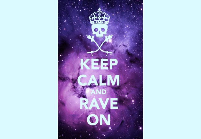 Rave On! II (EDM Series)  Artwork