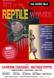 """Bite of the Reptile Woman"" Movie Poster"
