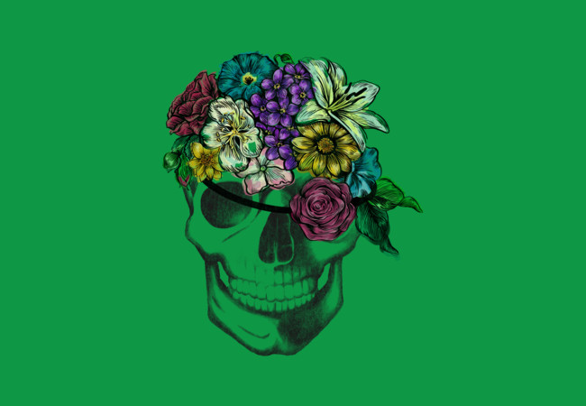 Floral Pirate  Artwork