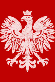 Polish Flag Eagle