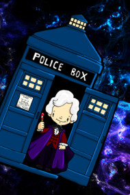 TARDIS in SPACE doctor who 3