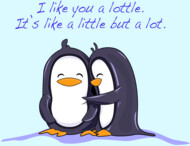 Like you lottle penguins