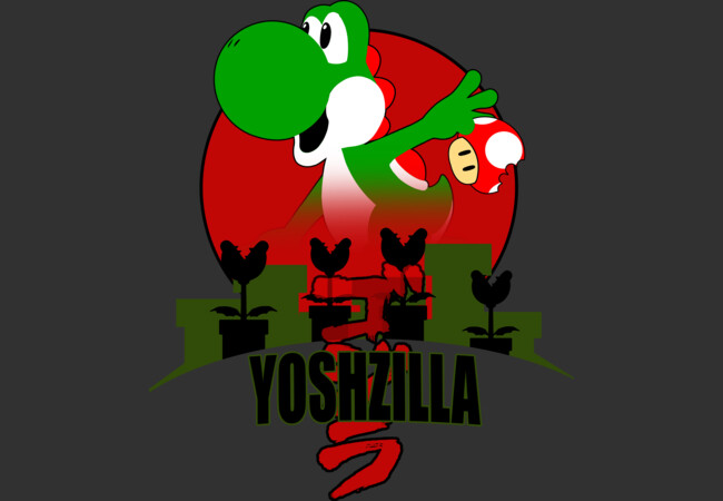 YoshZilla  Artwork