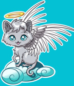 Chibi Angel Cat