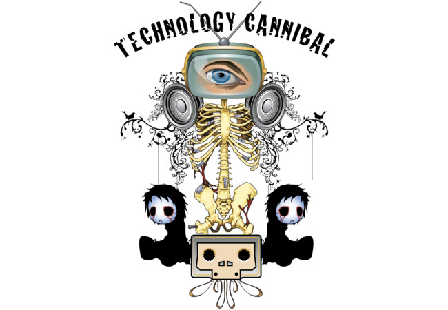 Technology Cannibal  Artwork