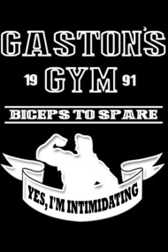 Gaston's Gym White