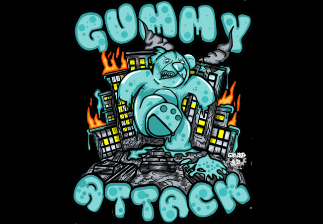 Gummy Attack  Artwork