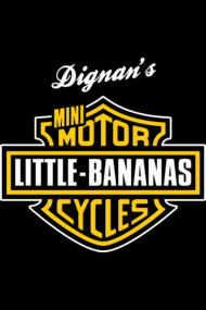 Dignan's Little Bananas Mini Motorcycles