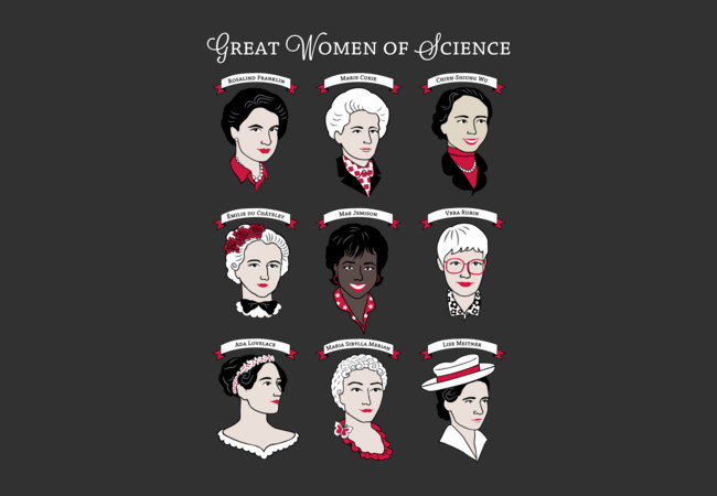 Great Women of Science  Artwork