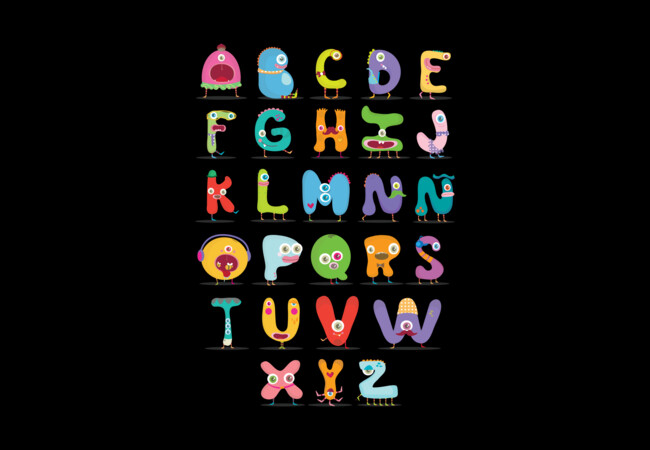 Monster Alphabet  Artwork