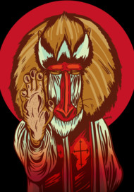 Mandrill Of The Cloth
