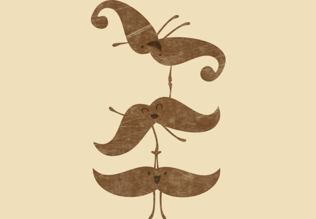 My Staches Can Do Lots of Tricks!  Artwork