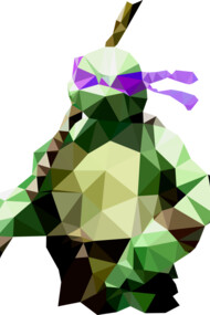 Polygon Heroes - Donatello